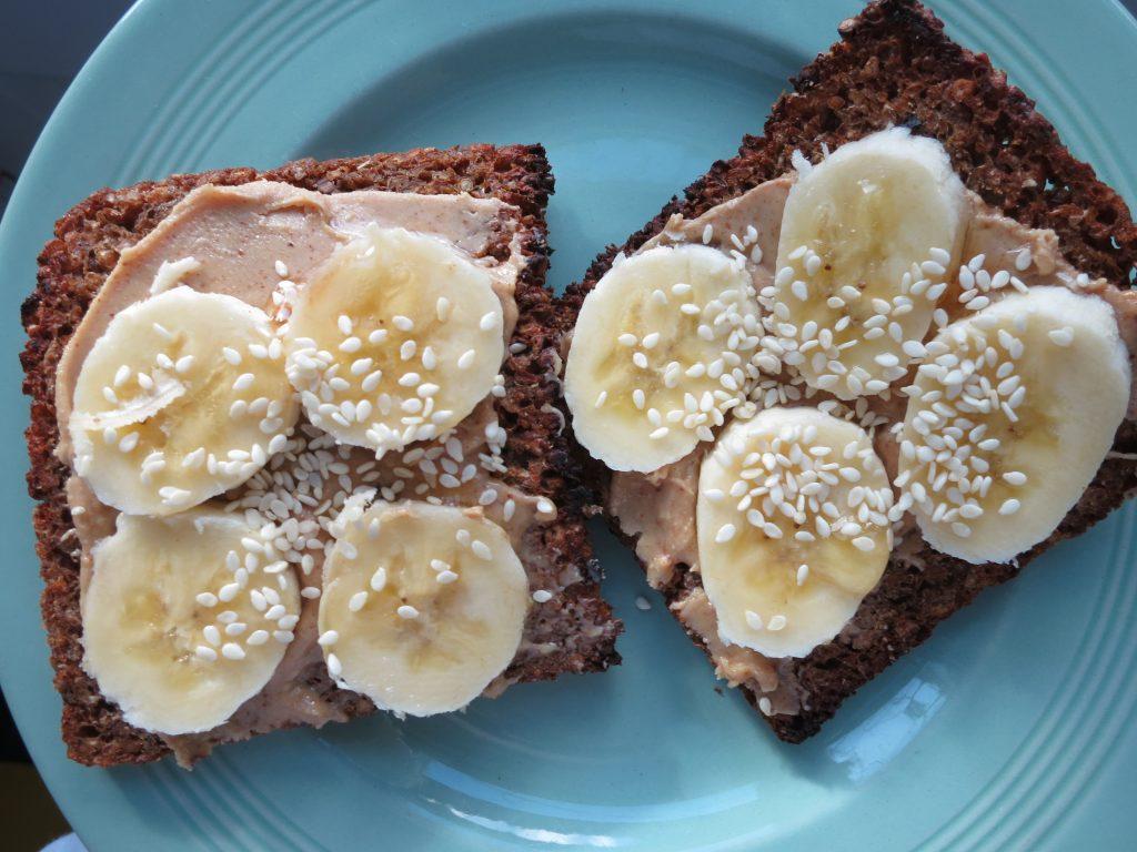 Peanut Butter Crunch Toast