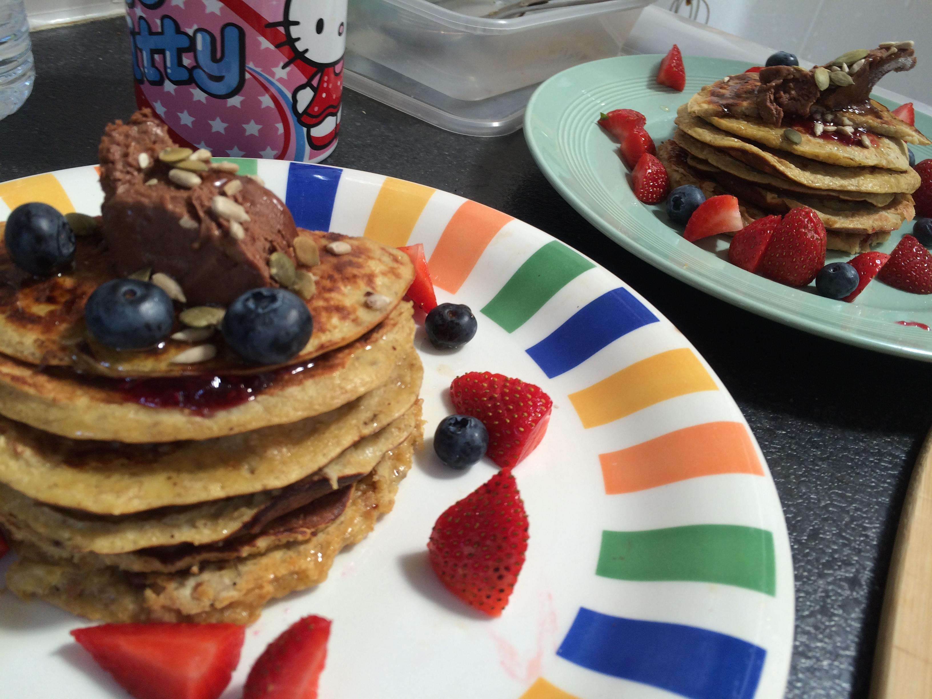 Protein Pancake Stack