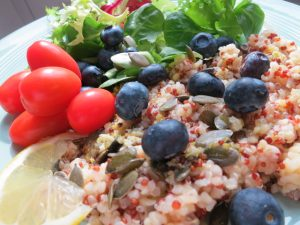 Lemon & Blueberry Quinoa