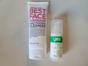 My new face care regime
